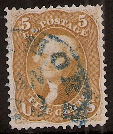 US Classic Stamp: 67a