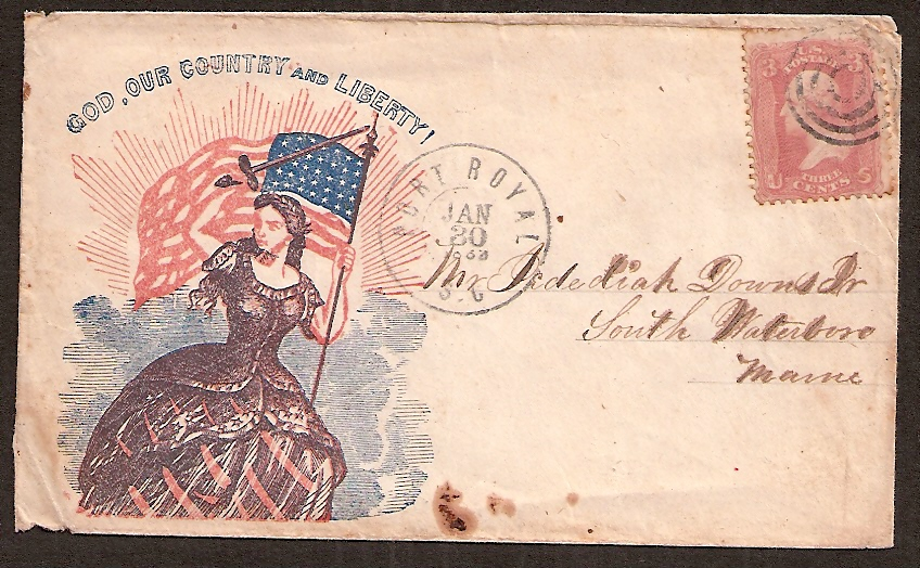 US Classic Stamp: Cover